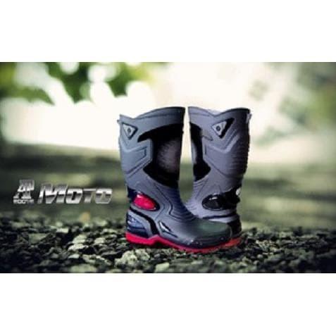 Jual Terbaru Sepatu AP BOOTS Anti Air touring cross trail balap drag ... e9906628e5