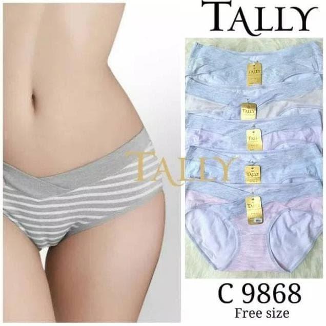 Jual Terbaik Celana Dalam Hamil Hipster Motif Salur Tally 9868 ... 84a37845ca