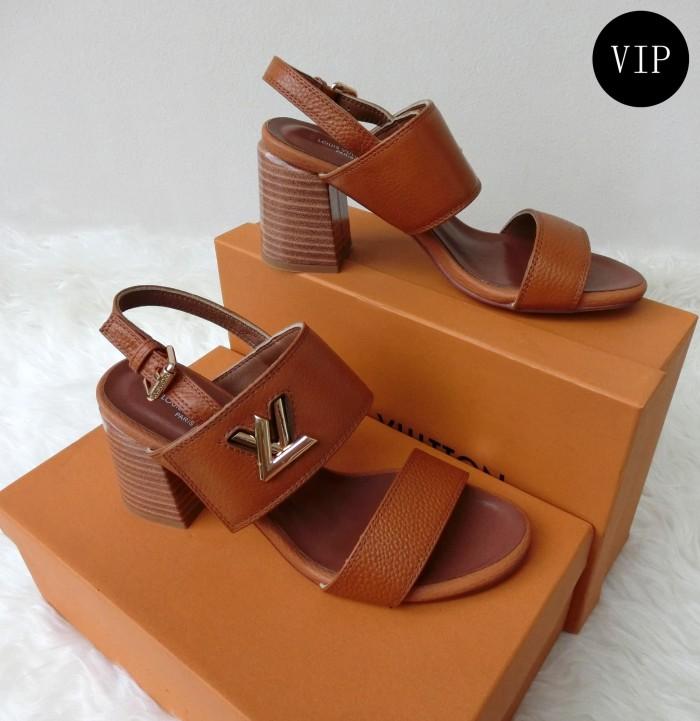 cd018d7fcaeb Jual LV Louis Vuitton Horizon Sandal (Sendal) 7.5cm - Mirror Replika ...