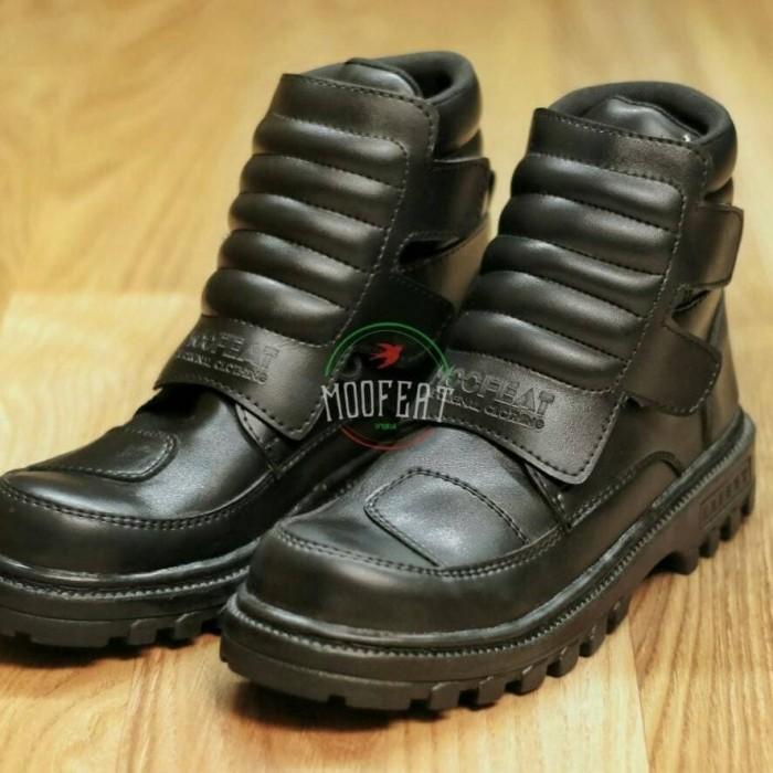 Jual Sepatu Boots Proyek MOOFEAT Original Sepatu Kerja Pria Ujung ... 8719aa1e68