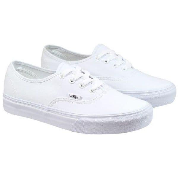 Jual Sepatu Vans Authentic Original White Pria dan Wanita Casual ... 15eaa9aab6