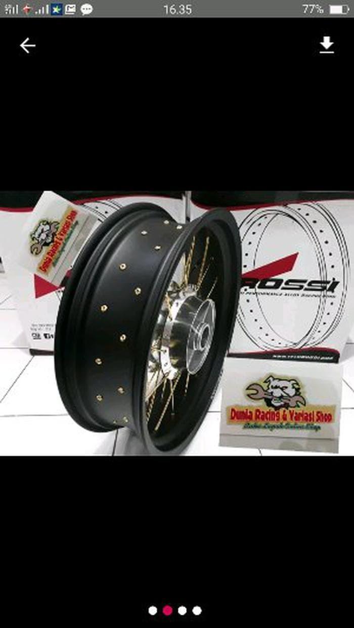 paketan velg Tapak Lebar 300-450 Ring 17 CB 150 old-CB 150 New Limited