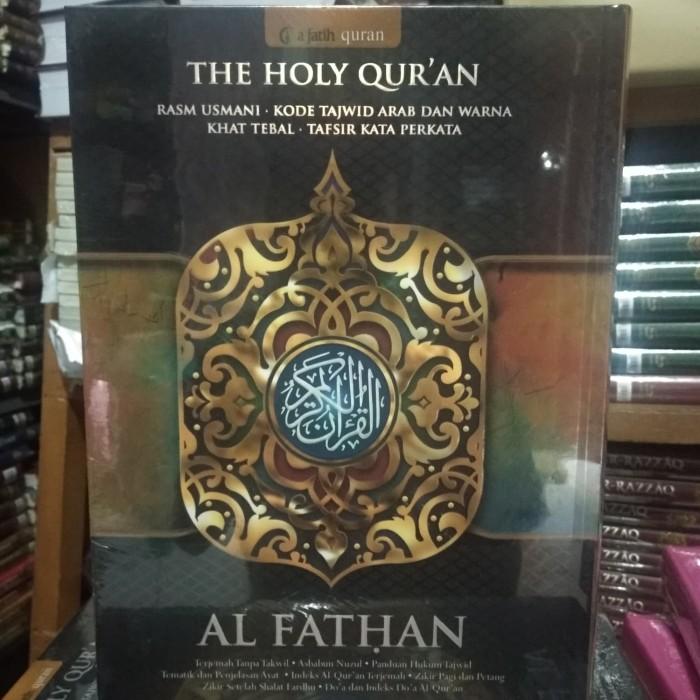 Al Quran Al Fathan a4 Rasm Utsmani Tajwid warna perkata - Alfatih