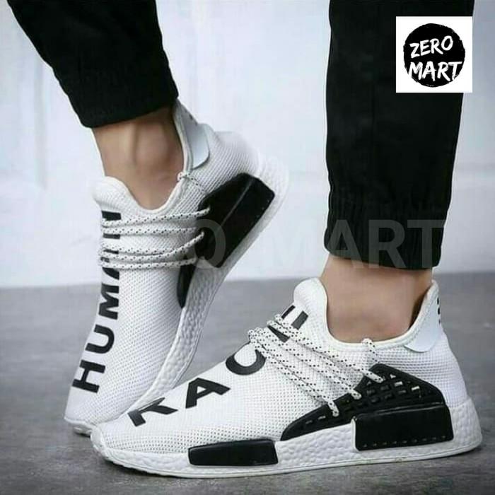finest selection e116d a0066 Jual Sepatu adidas human race white black premium original - DKI Jakarta -  zero_mart | Tokopedia