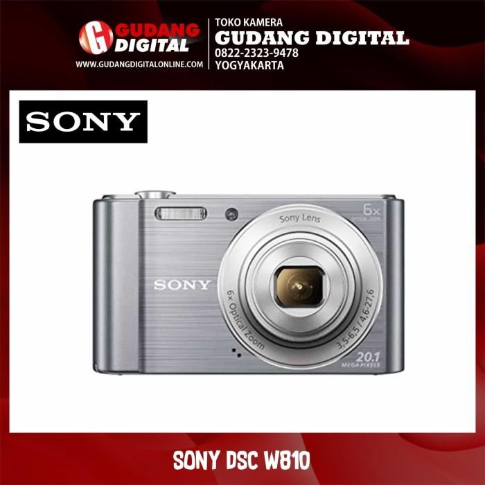 harga Kamera pocket sony dsc w810 - perak Tokopedia.com