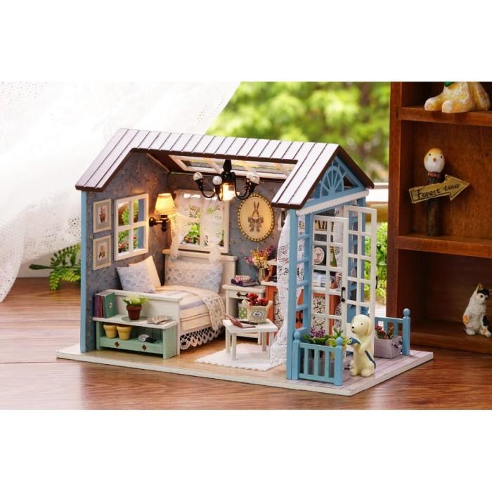 Jual Mainan Anak Miniatur Rumah Boneka 3D DIY 1 24 not Barbie ... 312ef32f01