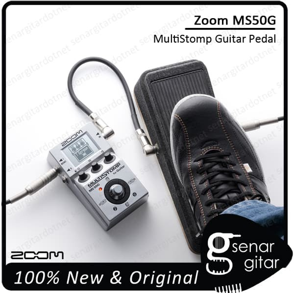 harga Zoom ms50g - stompbox multi efek gitar multi stomp ms 50g ms-50g Tokopedia.com