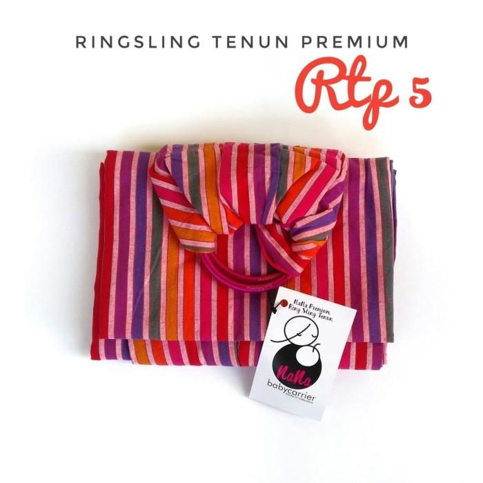 Jual Gendongan Nana Woven Ring Baby Sling Kain Tenun Cotton Premium