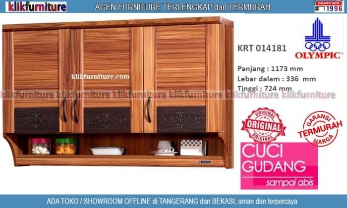 Jual Krt 014181 Olympic Kitchen Set Atas 3 Pintu Kota Tangerang Klikfurniture Tokopedia