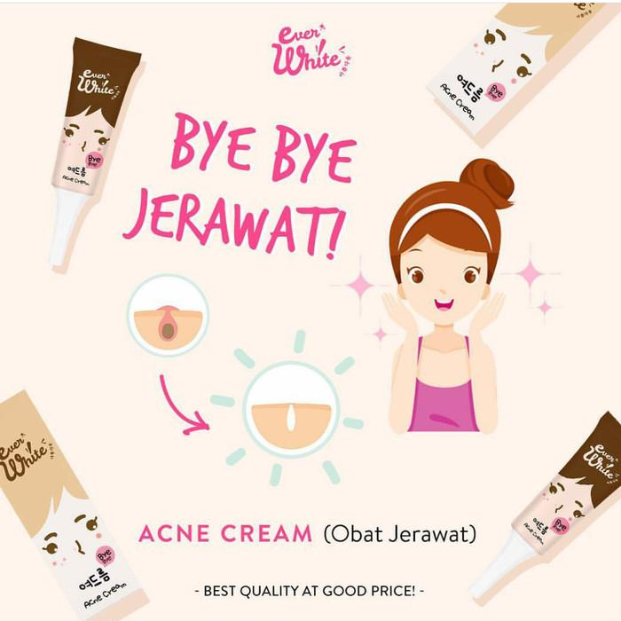 Everwhite Acne Cream Krim Jerawat Ever White BPOM