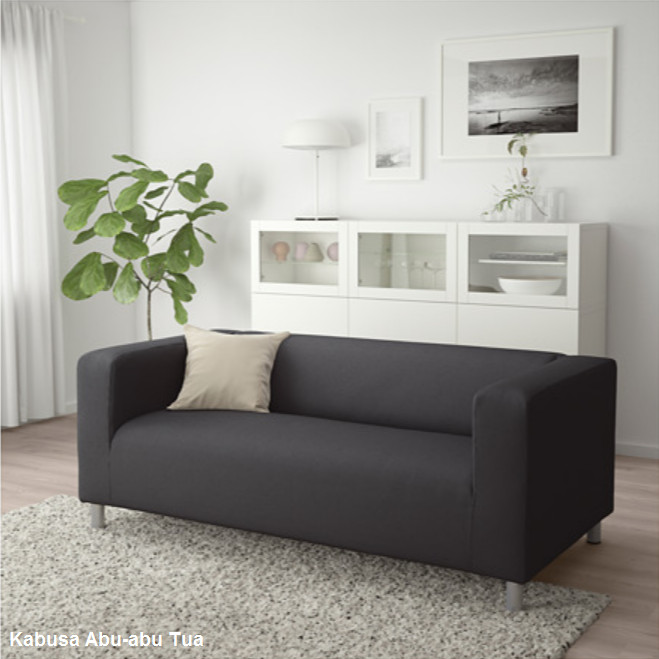 Jual Klippan Vissle Sofa Murah Ikea Sarung Bisa Diganti
