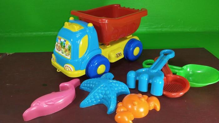 Foto Produk Mainan Cetakan Pasir Pantai Model Truck dari MAG TOYS