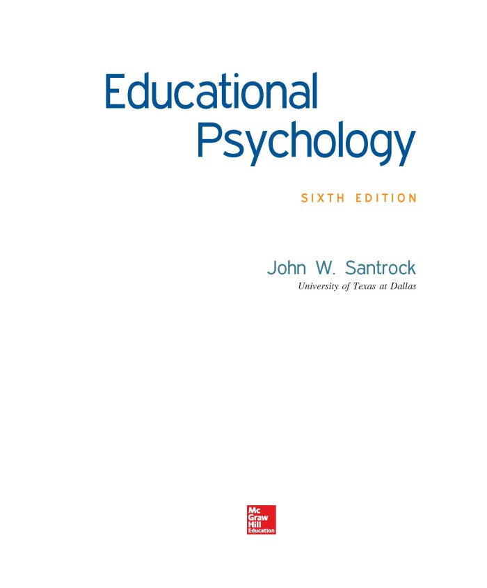 Educational Psychology Santrock Ebook