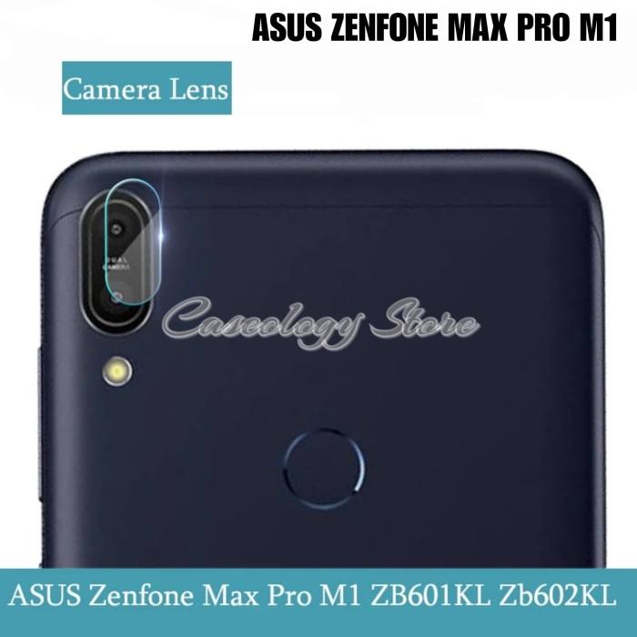 Foto Produk ZENFONE MAX PRO M1 TEMPERED GLASS KAMERA ASUS ZENFONE MAX PRO M1 - Putih dari Caseology Store