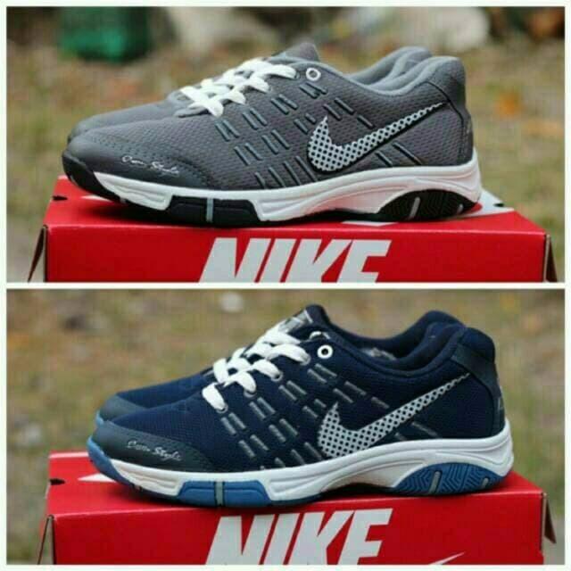 Nike air max sport running badminton sepatu senam lari jogging olahr