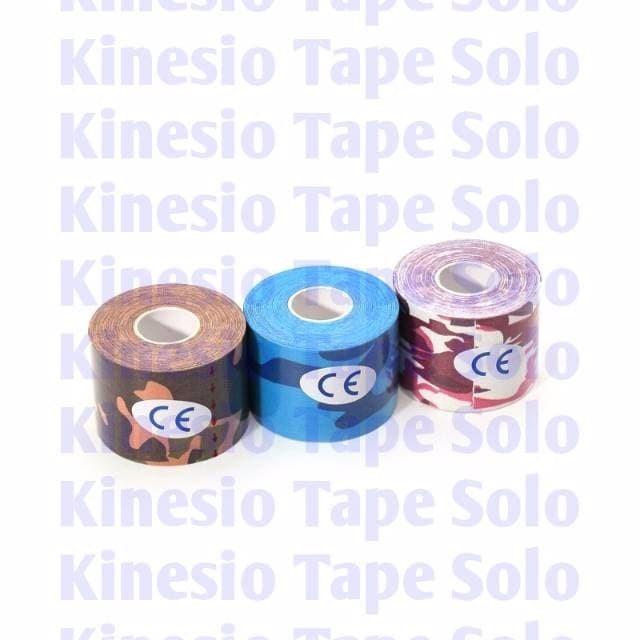 Kinesio Tape Tapping Kinesiology Tape 5cm x 5m Warna ARMY TERMURAH