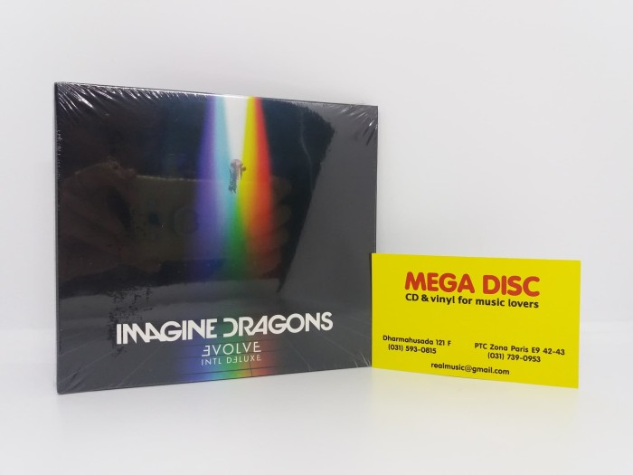 harga Cd imagine dragons - evolve intl deluxe digipack Tokopedia.com