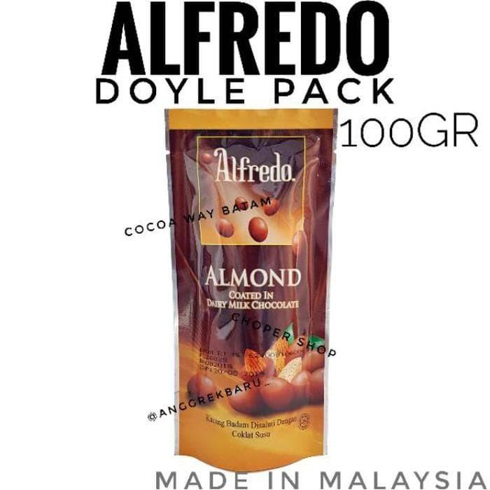 Cokelat Alfredo Doyle Pack 100gr / Coklat Alfredo Doyle Berkualitas