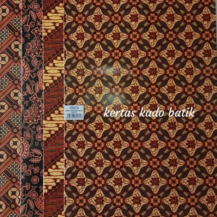 kertas kado batik bungkus