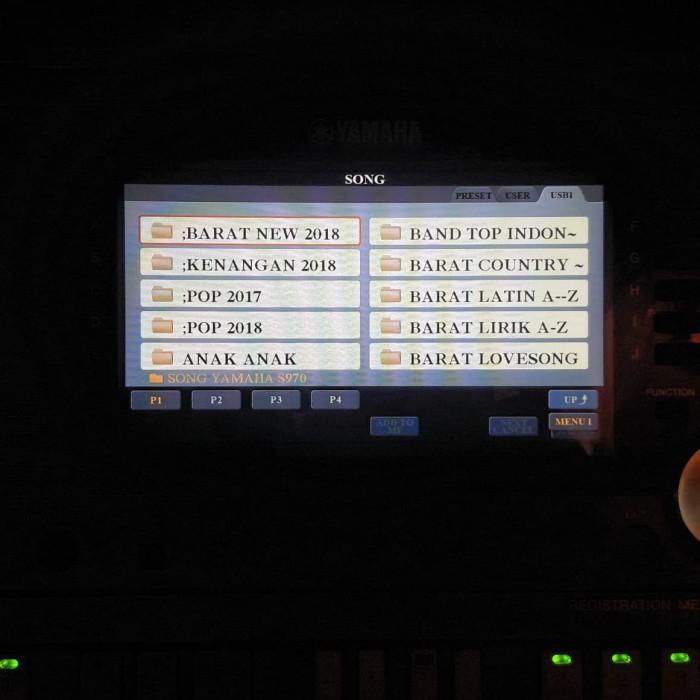 Jual YAMAHA PSR S750-S970 Style Manual, Style Semi Song, Song Lyric, MP3 -  Kota Tangerang Selatan - AriEnterprise | Tokopedia