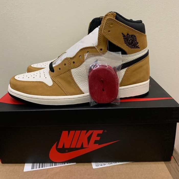 d14cf35deb1e52 Jual Air Jordan 1 OG Rookie Of The Year ROTY (Original) Size US 10.5 ...