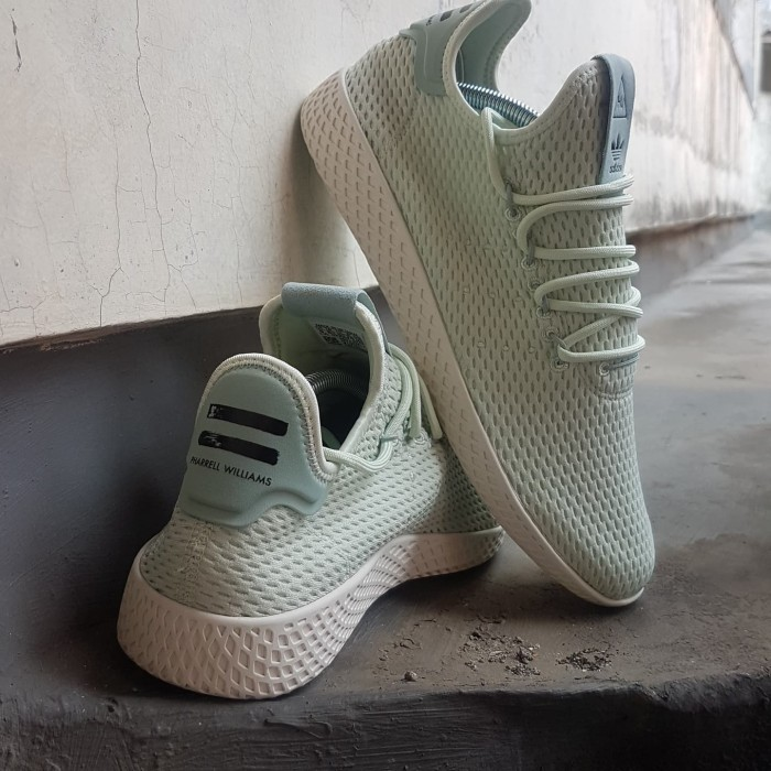 99171cf69 Jual Adidas Pharell Williams Hu Green Shoes - Kota Administrasi ...
