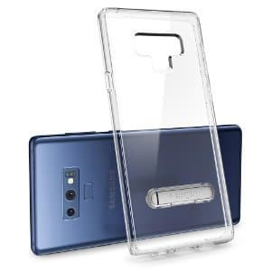 official photos e20d8 b460c Jual QL6 Case Galaxy Note 9 Case Spigen Clear Case with Stand Ultra Hybrid  - Peripheral-PC Store | Tokopedia