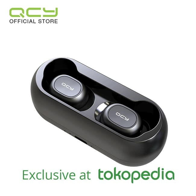 QCY Sport Bluetooth Earphone T1 ( Black )