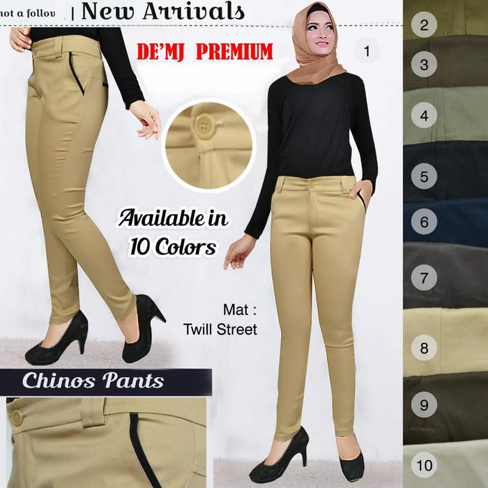 Jual Celana Chino Wanita Chinos Pants Celana Panjang Wanita