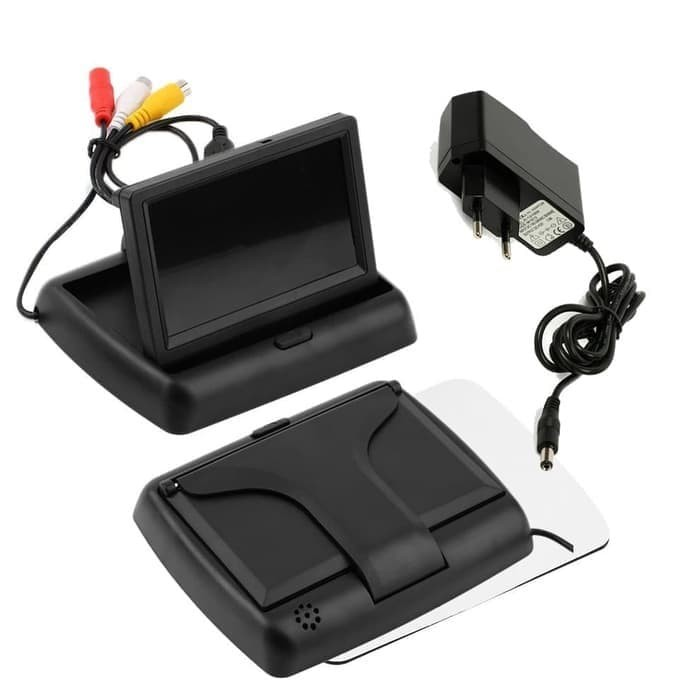 TV Kecil Lipat Monitor LCD TFT LED Parking Tracking Cctv Parabola Dl