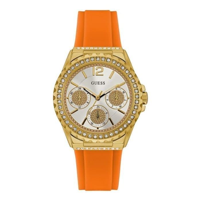 Guess w0846l4 starlight - jam tangan wanita - orange