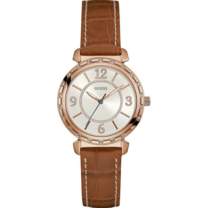Guess w0833l1 south hampton - jam tangan wanita - coklat