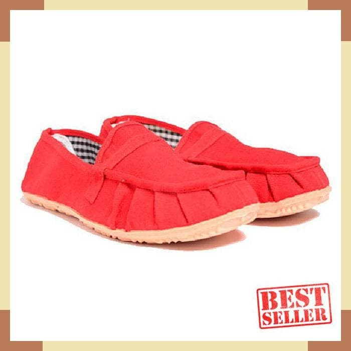Dr. Kevin Women Flats Shoes 5306 - Red