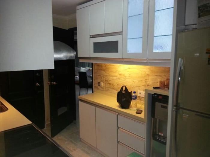Jual Kitchen Set Minimalis Modern Abu Abu Khoirul Furniture