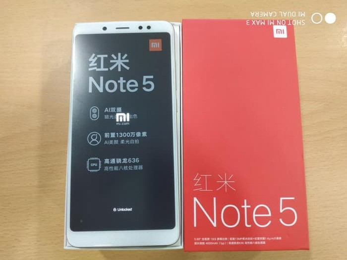 Jual Xiaomi Redmi Note 5 Pro - Ram 4 GB Rom 64 GB - Unlocked - Global Rom -  xixiv@mail4gmailcom | Tokopedia