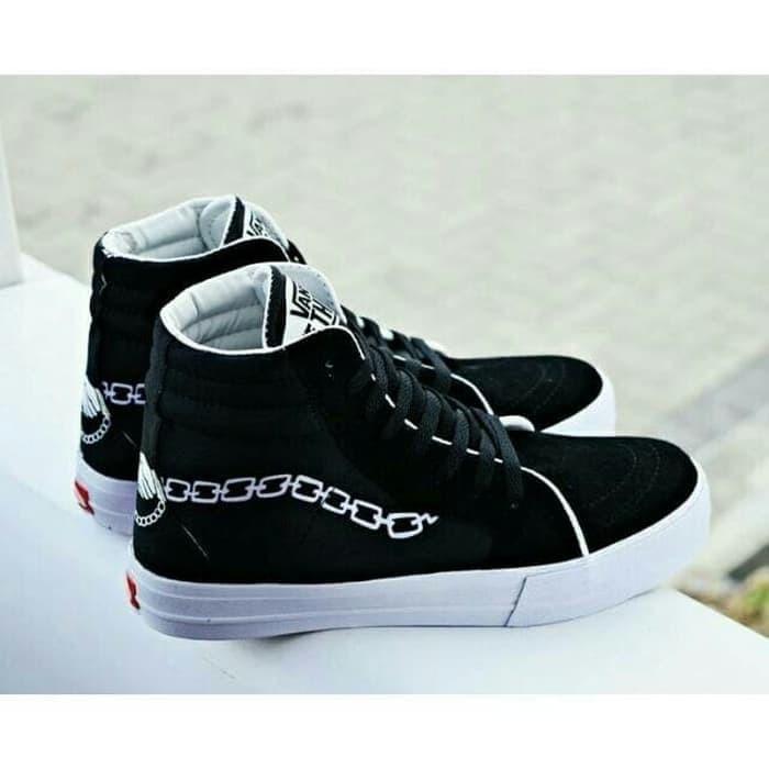 Promo Sepatu Vans Off The Wall Starwars Sneakers Pria Catur Tribal ... 923822fae0