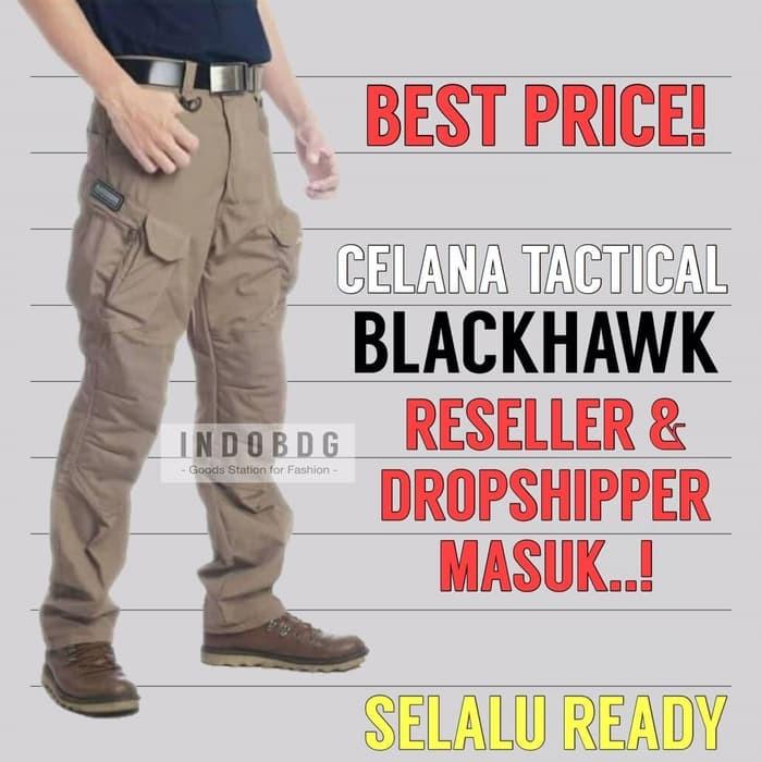 [best seller] celana tactical black hawk panjang pdl lapangan size 34