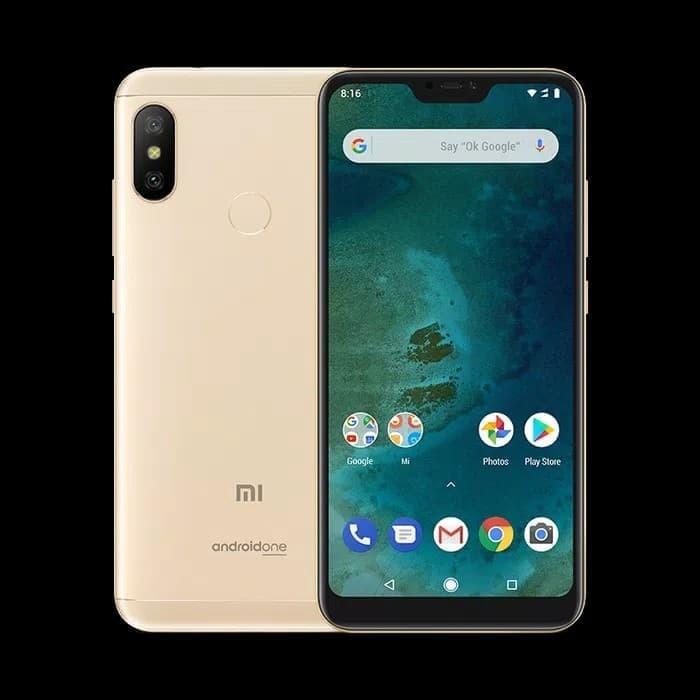 Jual Hp Xiaomi Mia2 Xiomi Mi A2 Lite Ram 4 64 Gb 4gb Rom 64gb Black