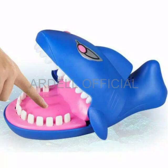 Foto Produk MAINAN BAYI IMPORT ASLI B1B456 BABY SHARK DENTIST GAME mainan anak gi dari ardell official