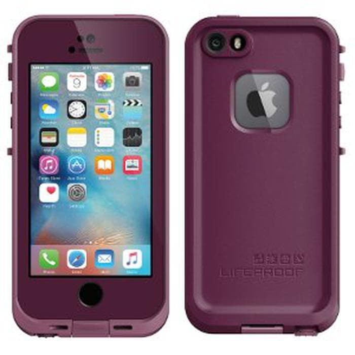 LIFEPROOF FRE CASE FOR IPHONE 5 - 5S - SE ORIGINAL CRUSHED PURPLE