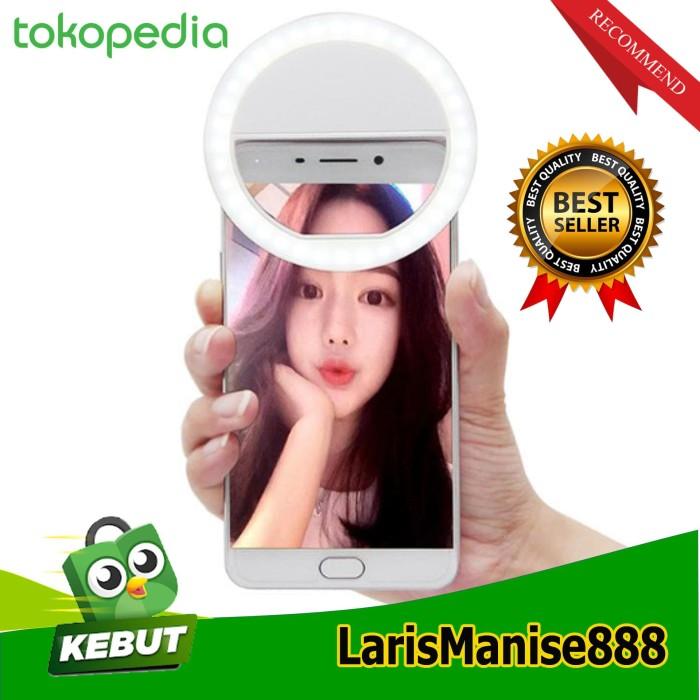 harga Lampu selfie bulat ring light selfie led putih ring selfie terlaris Tokopedia.com