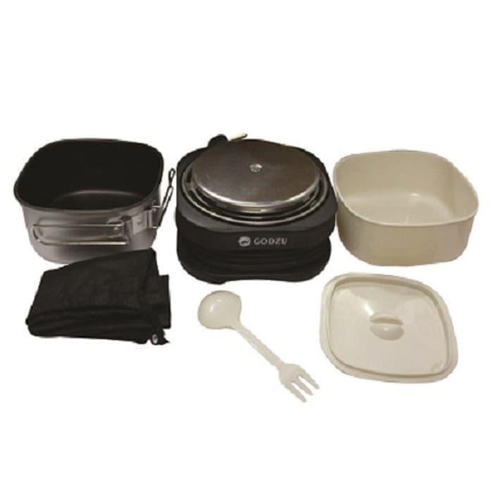 Travel Cooker Kecil Godzu 1 Liter 350 Watt GTC-350 Cooker