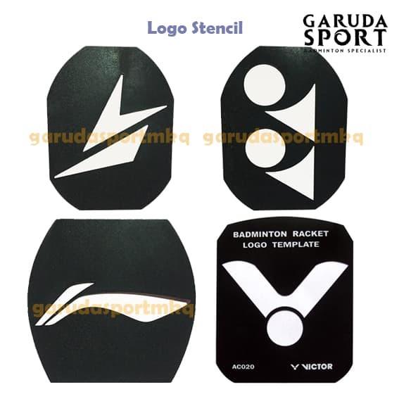 Jual Logo Stencil Pola Logo Untuk Raket Stencil Board