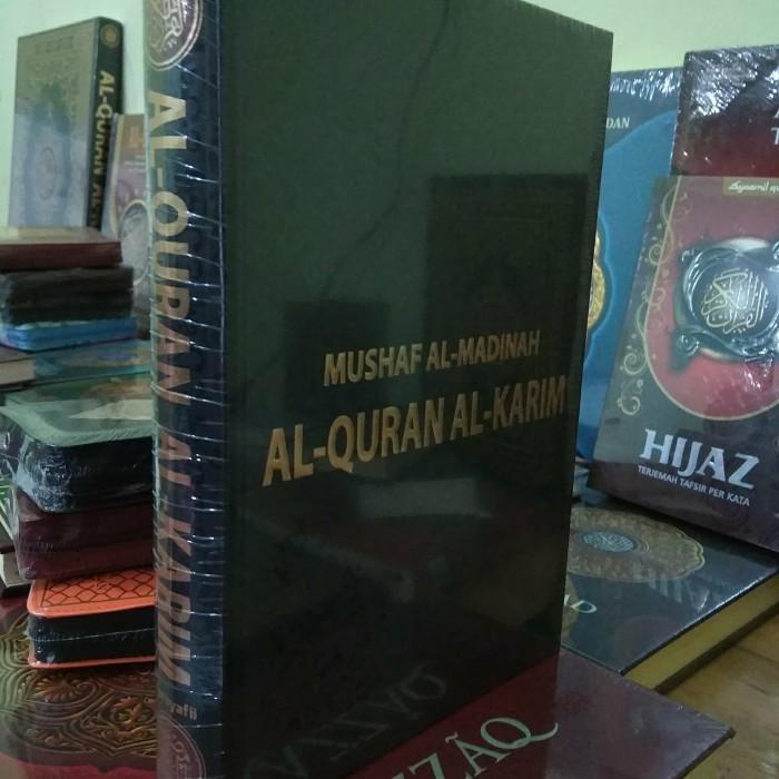 Harga Alquran Madinah - Al Quran Mushaf Asli Madinah Ukuran A6, Alquran Besar Jual Cover