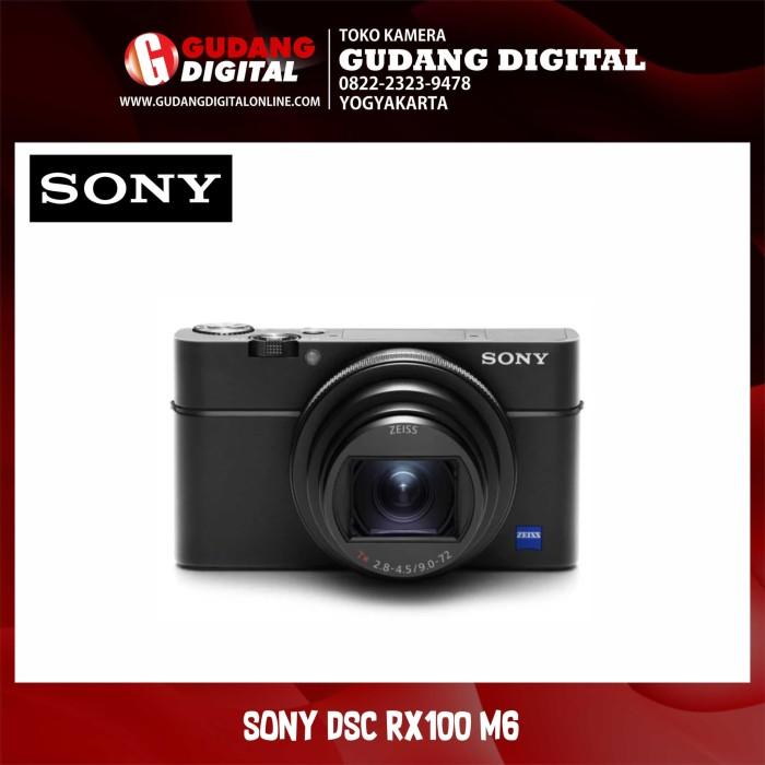 Kamera sony cyber-shot dsc-rx100 m6