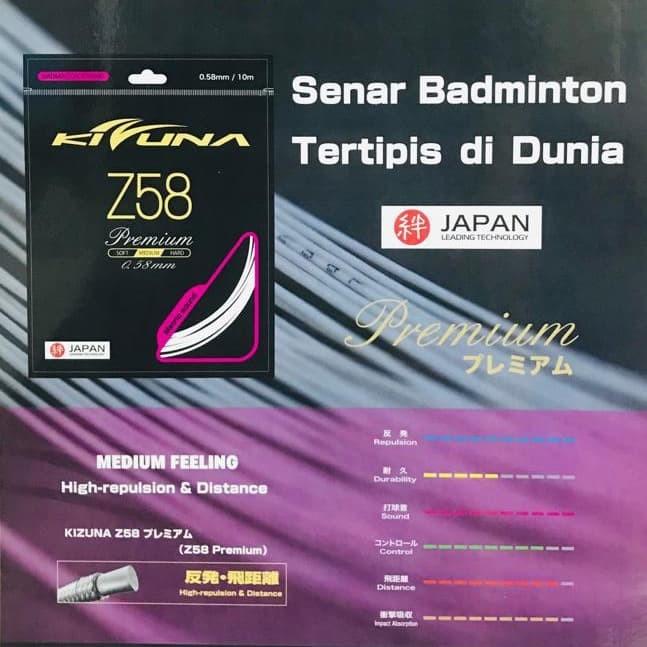 harga Senar badminton kizuna - z58 / z 58 - jepang Tokopedia.com