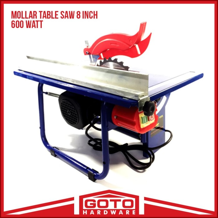 harga Mesin gergaji duduk meja table circular saw 8 inch 200 mm mollar Tokopedia.com