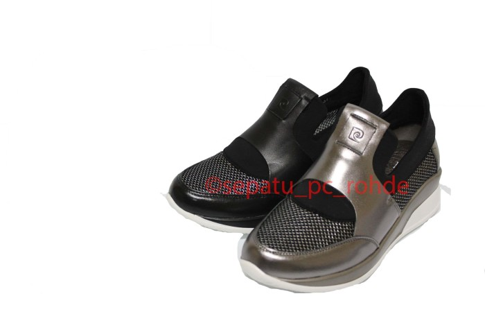 Jual Sepatu Casual Sporty Wanita PIERRE CARDIN 9106 - Hitam 94519aa682