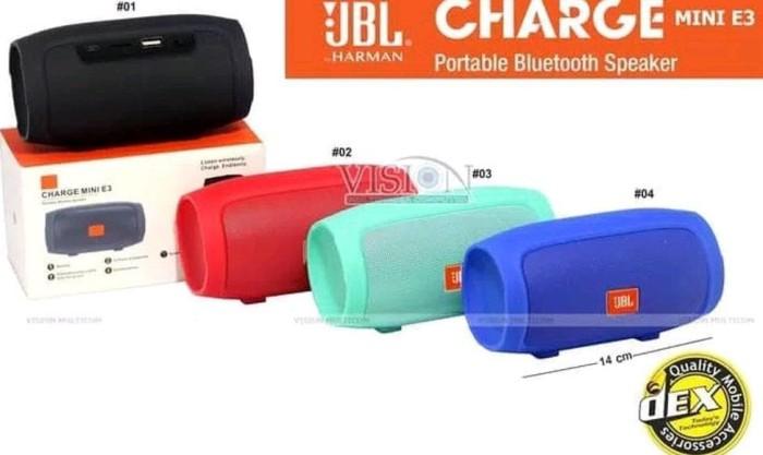 DIJUAL SPEAKER BLUETOOTH JBL CHARGE 3 PLUS MINI - SPEAKER JBL CHARGE 3