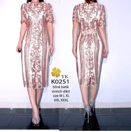 Review Dress Batik Premium Sequins Di Jakarta - Hotassghts 9fa682881d